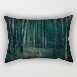 Dark night of the soul Rectangular Pillow