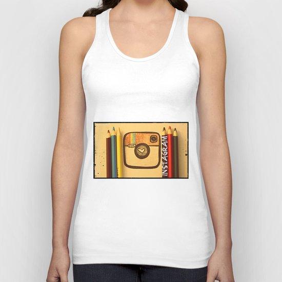 For Instagram Lovers ;) Unisex Tank Top