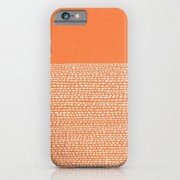 Riverside - Celosia Orange iPhone Case