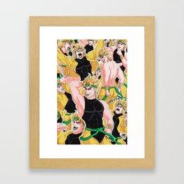 KONO DIO DA Framed Art Print