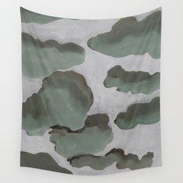 Gray Sky Wall Tapestry