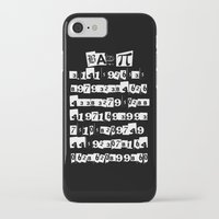 pi iPhone & iPod Cases featuring Bad Pi by mailboxdisco