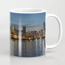 Chicago At Night Coffee Mug