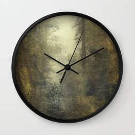 Let's Pretend we're Alone Wall Clock
