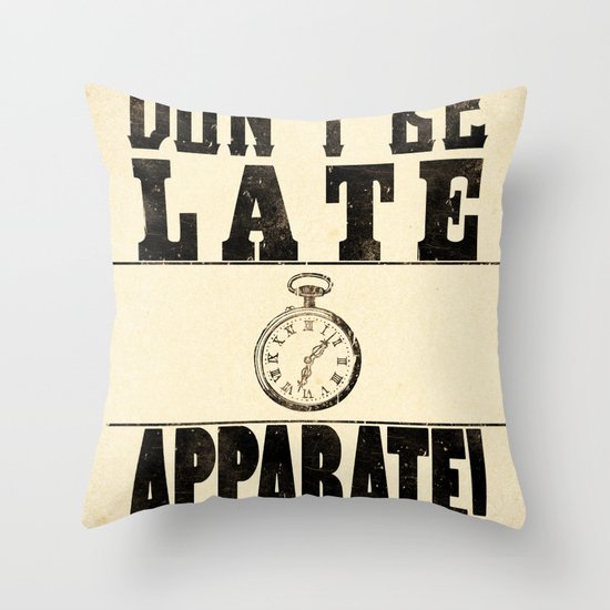 Apparate! Throw Pillow