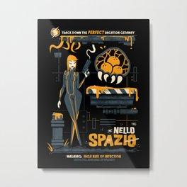 Nello Spazio Metal Print