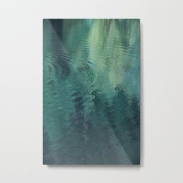 forest in the LAKE Metal Print