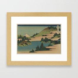 Hokusai  - Fuji Framed Art Print