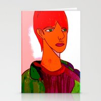 sam smith Stationery Cards featuring Sam by Latidra Washington