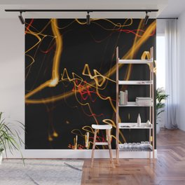 The abuse of light Wall Mural