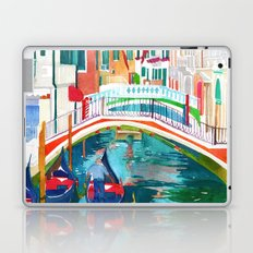Canal in Venice Laptop & iPad Skin
