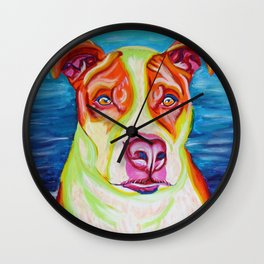Rudy, the Science Dog Wall Clock