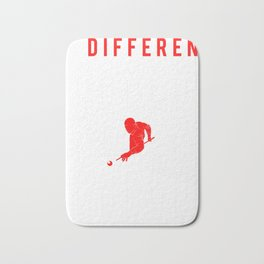 billiard be different t-shirt for new year Bath Mat