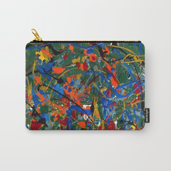 Abstract #17 Carry-All Pouch
