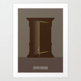 The Lion, The Witch & the Wardrobe Art Print