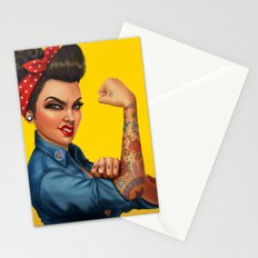 Rosie the Riveter Stationery Cards