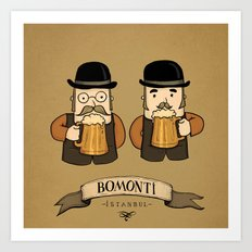 Bomonti, Istanbul Art Print