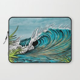 Original Surf Artist with Unique Style  Laptop Sleeve