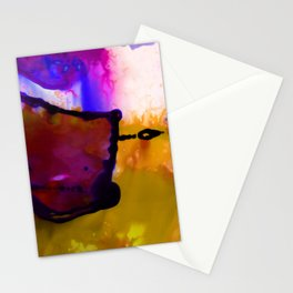 Abstract Bliss 4C by Kathy Morton Stanion Stationery Cards