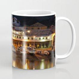 Harbour at dusk Coffee Mug