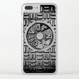 CITY OF N.Y. Clear iPhone Case