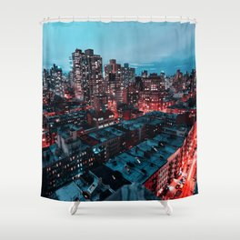 Upper East Side Shower Curtain