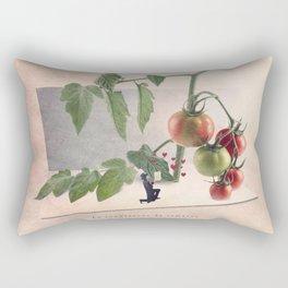 The tomato  Rectangular Pillow