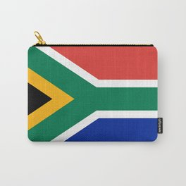 South African flag - high quality image Carry-All Pouch
