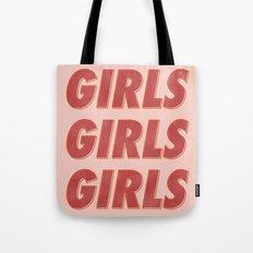 Girls Girls Girls II Tote Bag