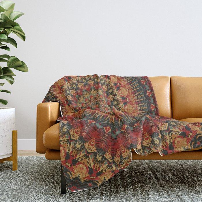 Mandala 563 Throw Blanket