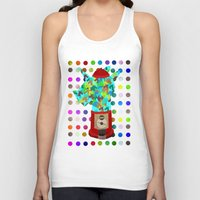 gumball Tank Tops featuring Gumball Unicorns by That's So Unicorny
