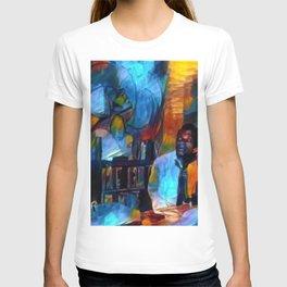 Ghosts of James Baldwin African American Portrait T-shirt