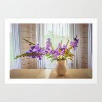 iris Art Prints featuring Iris by Svetlana Korneliuk
