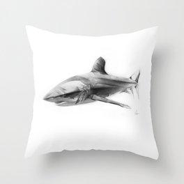 Shark I Throw Pillow