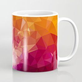 Galaxy Low Poly 44 Coffee Mug