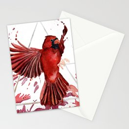 Air Cardinal Stationery Cards