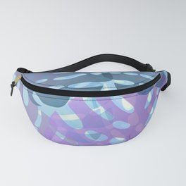 Tropical leaves 8. Fanny Pack