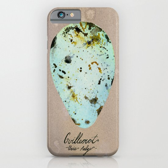 GUILLEMOT EGG iPhone & iPod Case