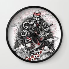 Call of Tradition Wall Clock