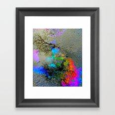Urban Rainbow Framed Art Print