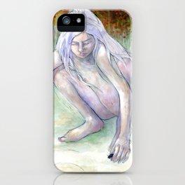 Spiral Girl iPhone Case