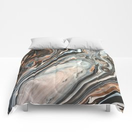 Copper and Stone Comforters