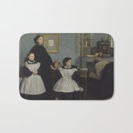 The Bellelli Family (Family Portrait) Bath Mat