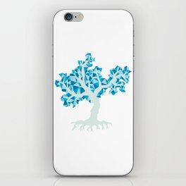 Blue Tree iPhone Skin
