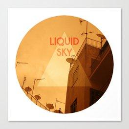 Liquid Sky Canvas Print