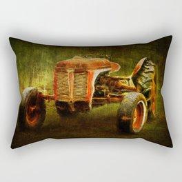 Ferguson Waiting on LaGest ~ Tractor ~ Ginkelmier Inspired Rectangular Pillow