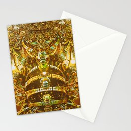 Aztec Gold Stationery Cards
