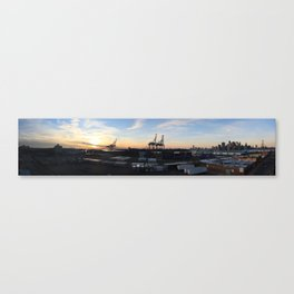 Red Hook Sunset Canvas Print