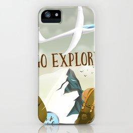 Go Explore! iPhone Case