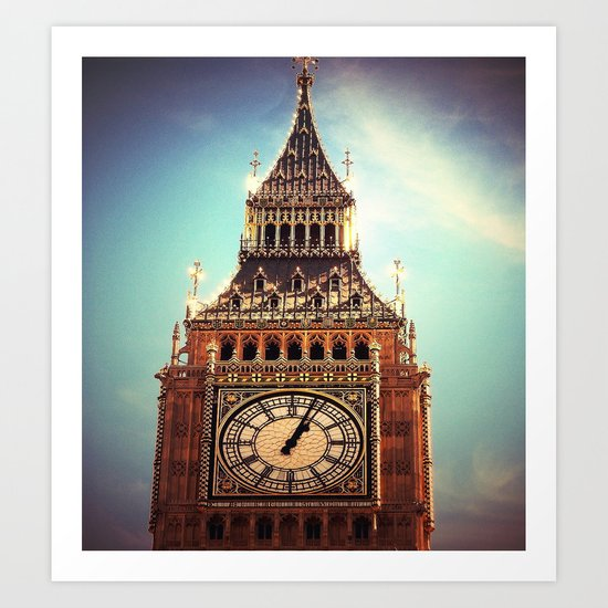 Big Ben II Art Print
